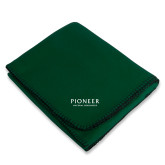 Dark Green Arctic Fleece Blanket-Pioneer Natural Resources