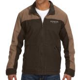 DRI DUCK Horizon Field Khaki/Tobacco Canvas Jacket-Pioneer Well Services