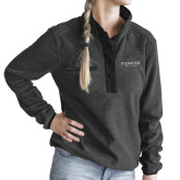 Ladies DRI DUCK Aspen Charcoal Fleece Pullover-Pioneer Well Services