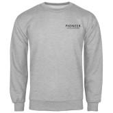 Grey Fleece Crew-Pioneer Natural Resources