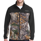 DRI DUCK Motion Realtree Xtra/Charcoal Softshell Jacket-Pioneer Well Services