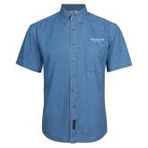 Denim Shirt Short Sleeve-Pioneer Well Services