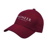 Maroon Heavyweight Twill Pro Style Hat-Pioneer Well Services