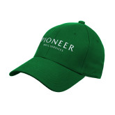 Kelly Green Heavyweight Twill Pro Style Hat-Pioneer Well Services