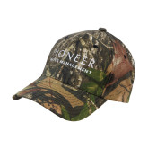 Mossy Oak Camo Structured Cap-Pioneer Water Management