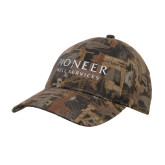 Oilfield Camo Structured Hat-Pioneer Well Services