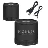 Wireless HD Bluetooth Black Round Speaker-Pioneer Natural Resources
