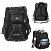 High Sierra Swerve Black Compu Backpack-Pioneer Natural Resources