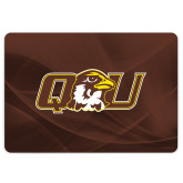 MacBook Pro 13 Inch Skin-QU Hawk Head, Background PMS 4695 Brown