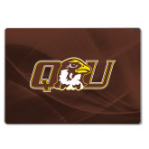 Surface Book Skin-QU Hawk Head, Background PMS 4695 Brown