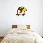 2 ft x 2 ft Fan WallSkinz-Hawk Head