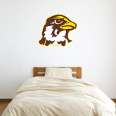 3 ft x 3 ft Fan WallSkinz-Hawk Head