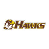 Medium Decal-Hawks w/ Hawk Head, 8 inches wide