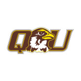 Small Decal-QU Hawk Head, 6 inches wide