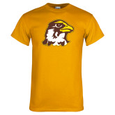 Gold T Shirt-Hawk Head