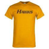 Gold T Shirt-Hawks