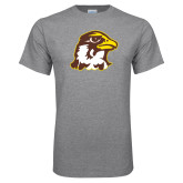 Grey T Shirt-Hawk Head