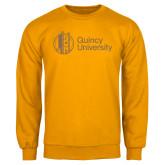 Gold Fleece Crew-University Mark - Tower