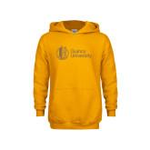Youth Gold Fleece Hoodie-University Mark - Tower