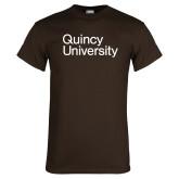 Brown T Shirt-Wordmark