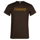 Brown T Shirt-Hawks