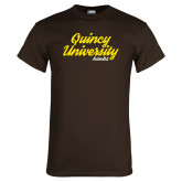 Brown T Shirt-Script