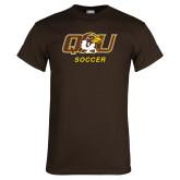 Brown T Shirt-Soccer