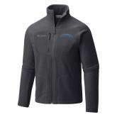 Columbia Full Zip Charcoal Fleece Jacket-Wordmark