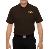 Under Armour Brown Performance Polo-QU Hawk Head