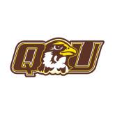 Small Magnet-QU Hawk Head, 6 inches wide
