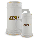 Full Color Decorative Ceramic Mug 22oz-QU Hawk Head