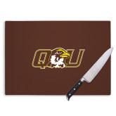 Cutting Board-QU Hawk Head