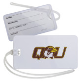 Luggage Tag-QU Hawk Head
