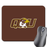 Full Color Mousepad-QU Hawk Head
