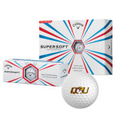 Callaway Supersoft Golf Balls 12/pkg-QU Hawk Head