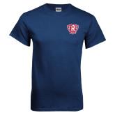 Navy T Shirt-R in Shield