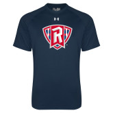 Under Armour Navy Tech Tee-R in Shield