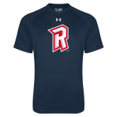 Under Armour Navy Tech Tee-R Mark