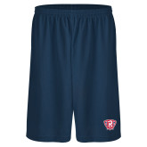 Russell Performance Navy 10 Inch Short w/Pockets-R in Shield