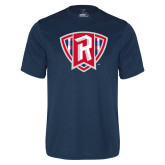 Performance Navy Tee-R in Shield