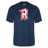 Performance Navy Tee-R Mark