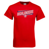 Red T Shirt-Highlander Design
