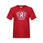 Youth Red T Shirt-R in Shield