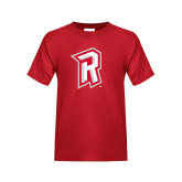 Youth Red T Shirt-R Mark