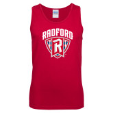 Red Tank Top-Primary Mark