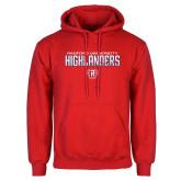 Red Fleece Hoodie-Radford University Highlanders