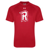 Under Armour Red Tech Tee-R Mark
