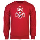 Red Fleece Crew-Highlander