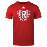 Adidas Red Logo T Shirt-R in Shield