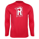 Performance Red Longsleeve Shirt-R Mark